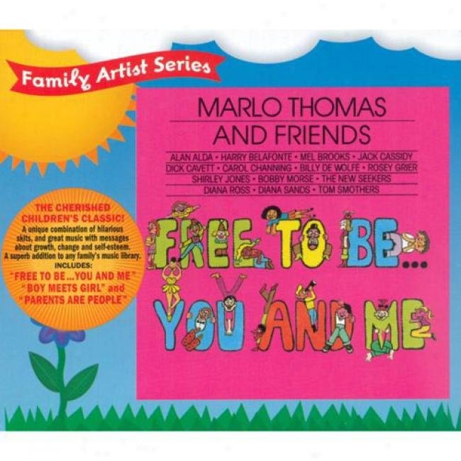 Marlo Thomas And Friends: Free To Be... You And Me (cd Slipfase)