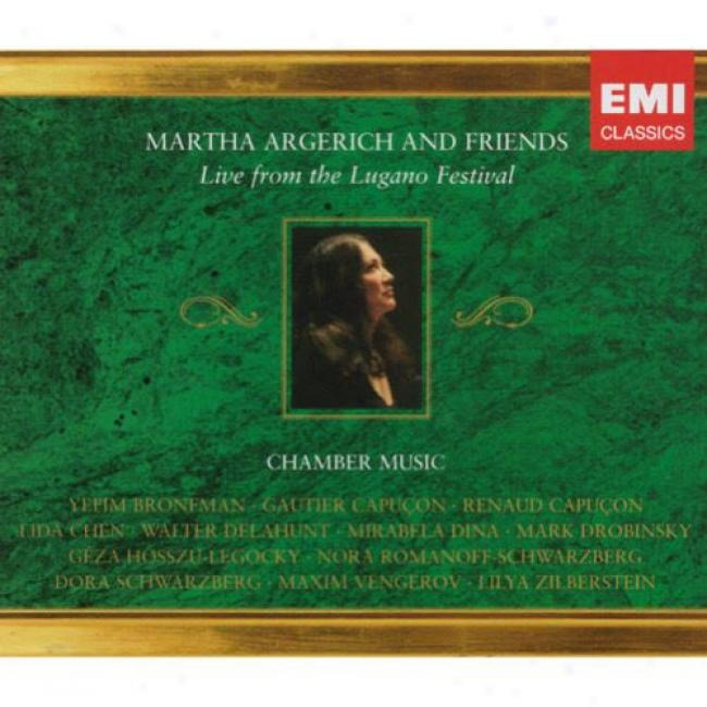 Martha Argerich And Friends: Live From The Lugano Festival (3 Disc Box Set)