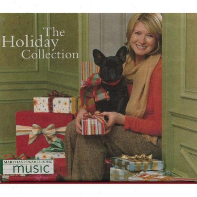 Martha Stewart Living Music: The Holiday Collection (3 Disc Box Set)