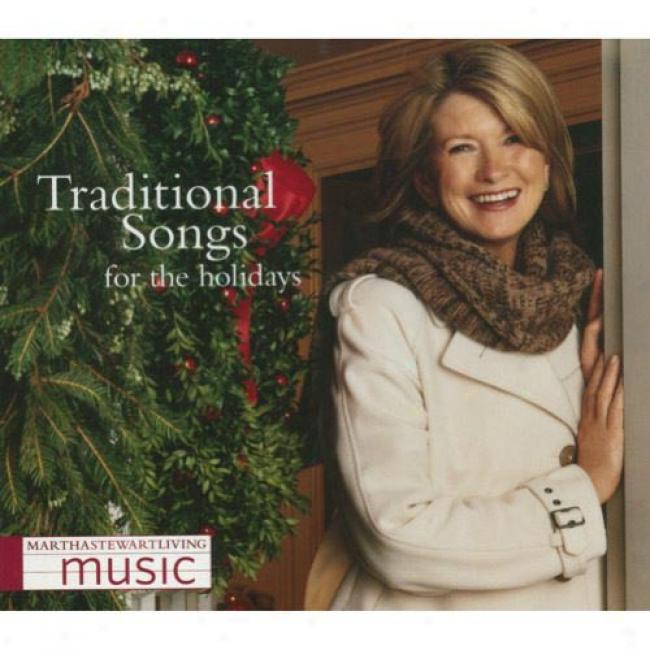 Martha Stewart Living Music: Traditional Songs For The Holidays (digi-pak)