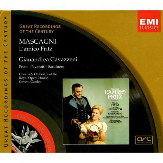 Mascagni: L'amico Fritz (2cd) (cd Slipcase) (remaster)