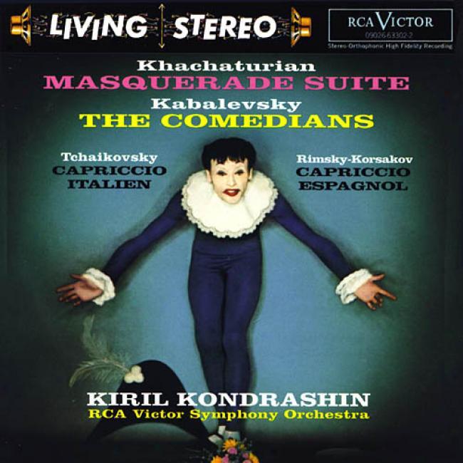 Masquerade Suite/the Comedians/capriccio Italien/capriccio Espagnol