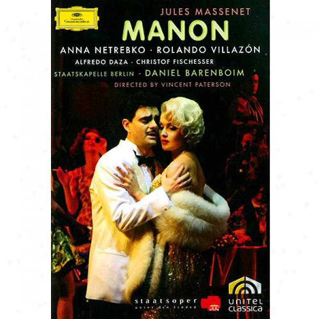Massenet: Mahon (2 Discs Music Dvd) (amaray Case)