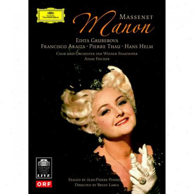 Massenet: Manon (music Dvd) (amaray Case) (remazter)