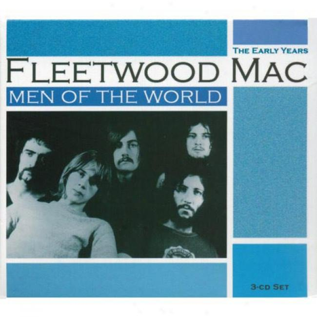 Men Of The World: The Early Years (3cd) (cd Slipcase)
