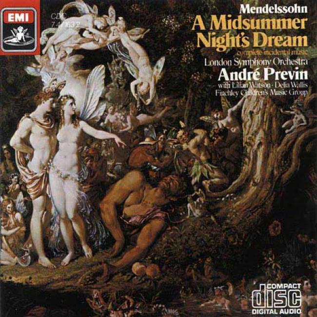 Mendelssohn: A Midsummer Night's Dream (remaster)