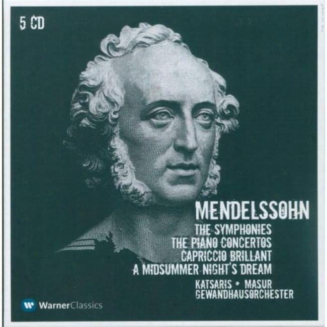 Mendelssohn: Orchestral Works (5 Disc Box Set) (remaster)