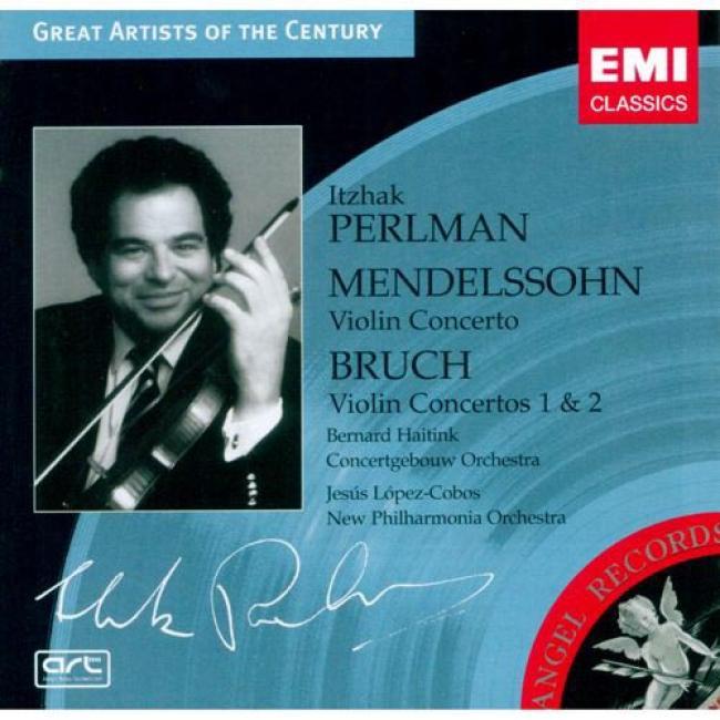 Mendelssohn/bruch: Fiddle Concertos (remaster)