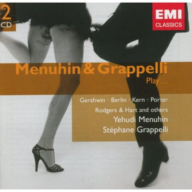Menuhin & Grappelli Play... Gershwin, Berlin, Kern, Porter (2cd) (remaster)
