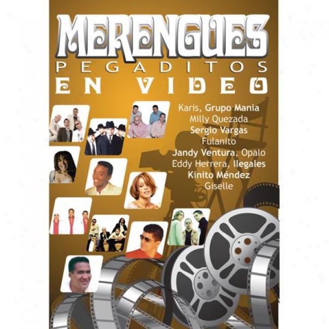 Merengues Pegaditos En Video (Melody Dvd) (amaray Case)
