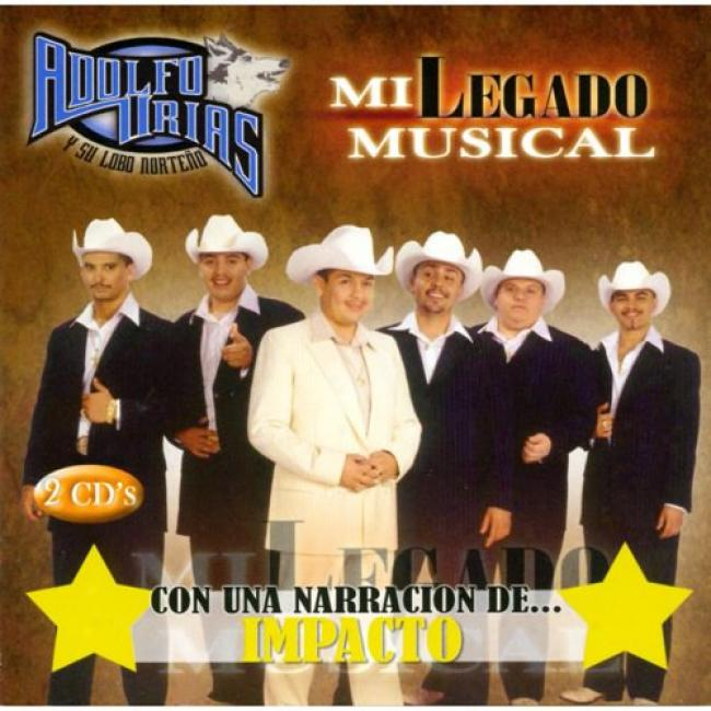 Mi Legado Musical Con Una Narracion De... Impacto (2cd)