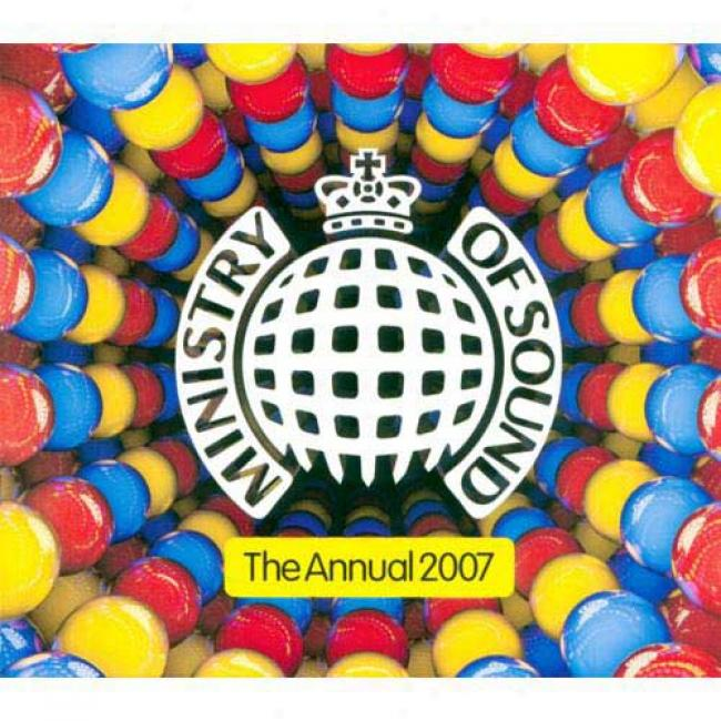 Minnistry Of Sound: The Annual 2007 (2cd) (cd Slipcase)