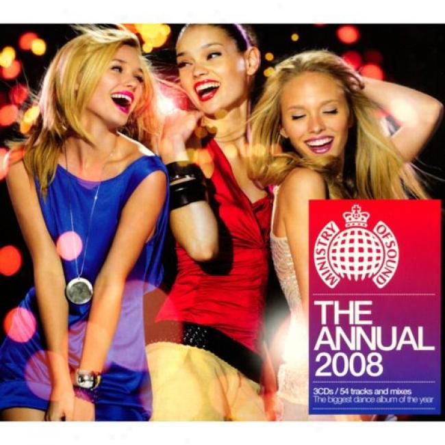 Ministry Of Sound: The Annual 2008 (3cd) (cd Slipcase)