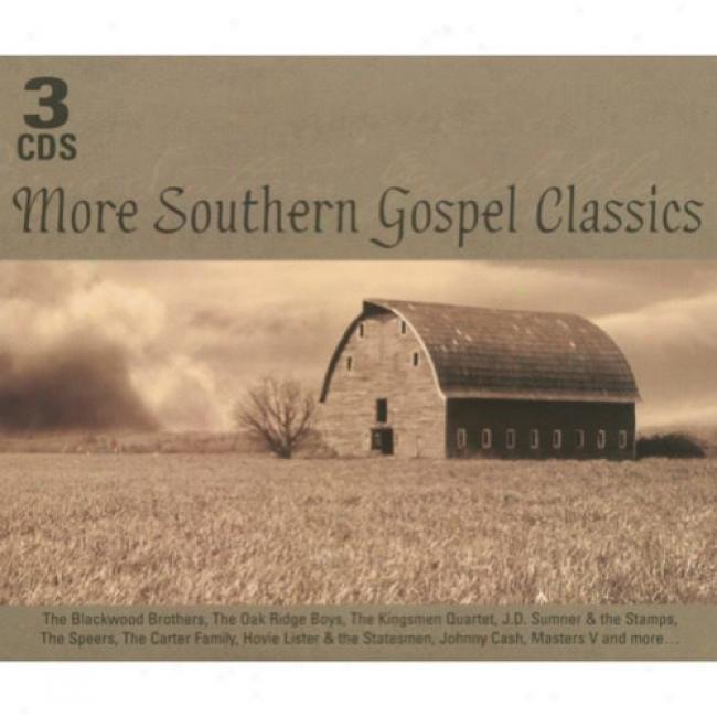 More Southern Gospel Classifs (3cd) (digi-pak)