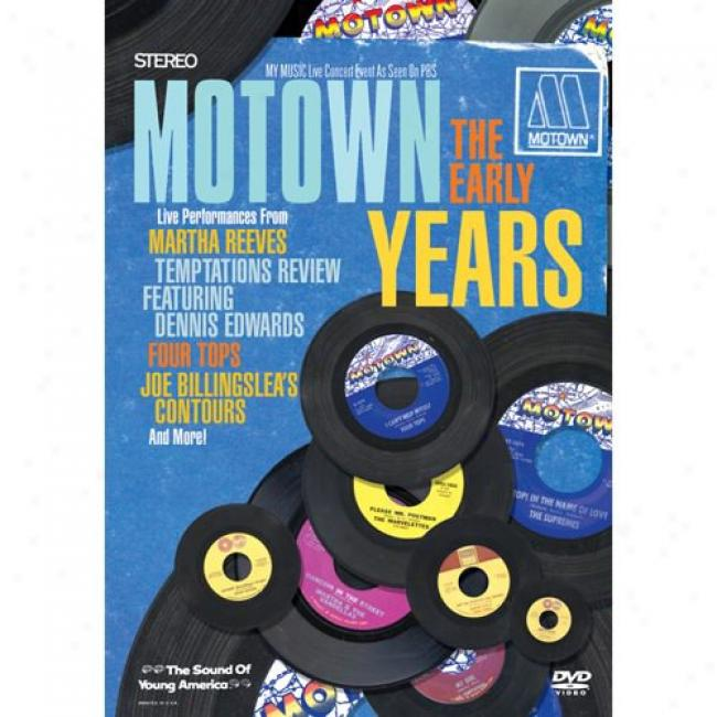 Motown: The Earyl Years (music Dvd) (amaray Case)