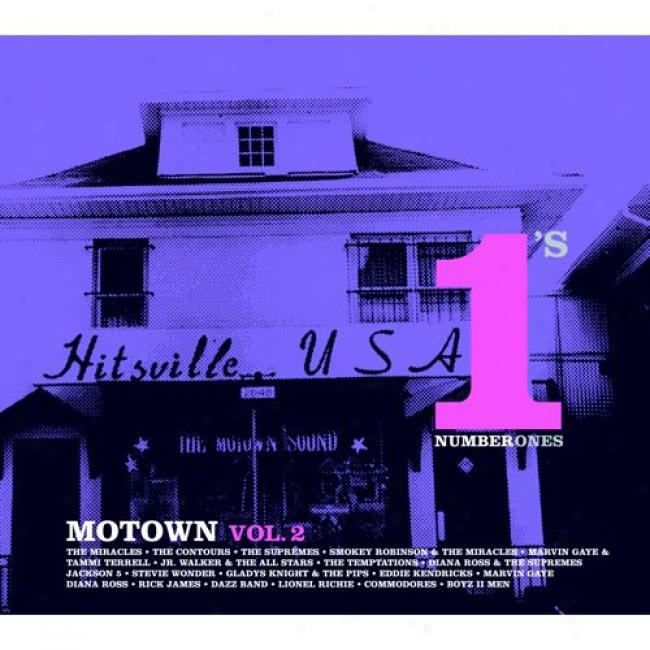 Motown, Vol.2: Number 1's (with Biodegradable Cd Case)