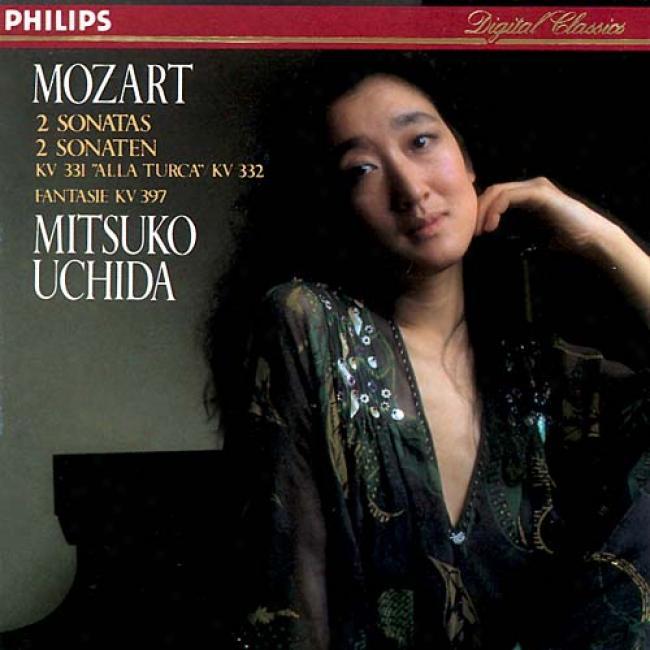 Mozart: 2 Sonatas K 331 And K 332, Etc/mitsuko Uchida
