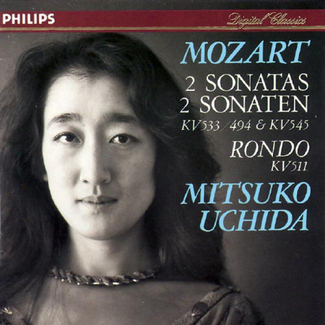 Mozart: 2 Sonatas K 545 And 533, Etc/mitsuko Uchida