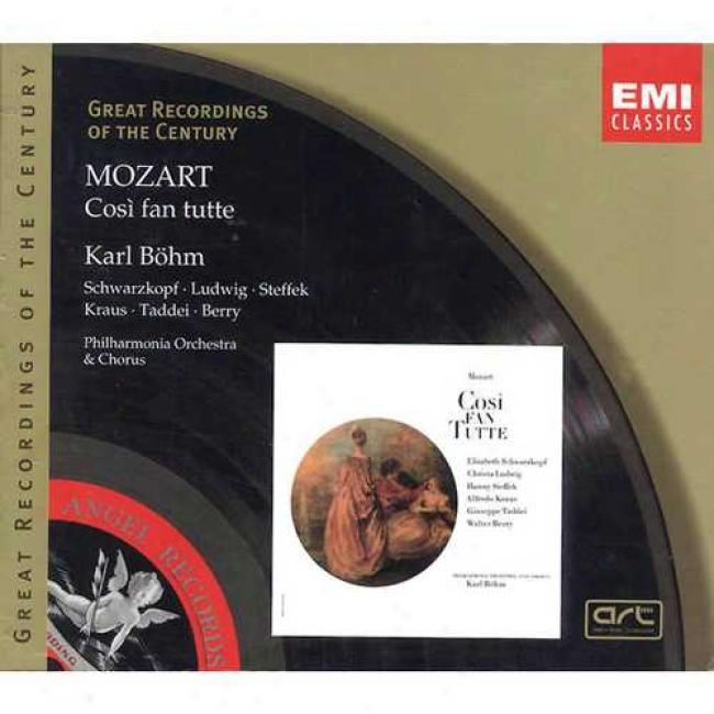 Mozrat: Cosi Fan Tutte (3 Disc Box Set) (remaster)