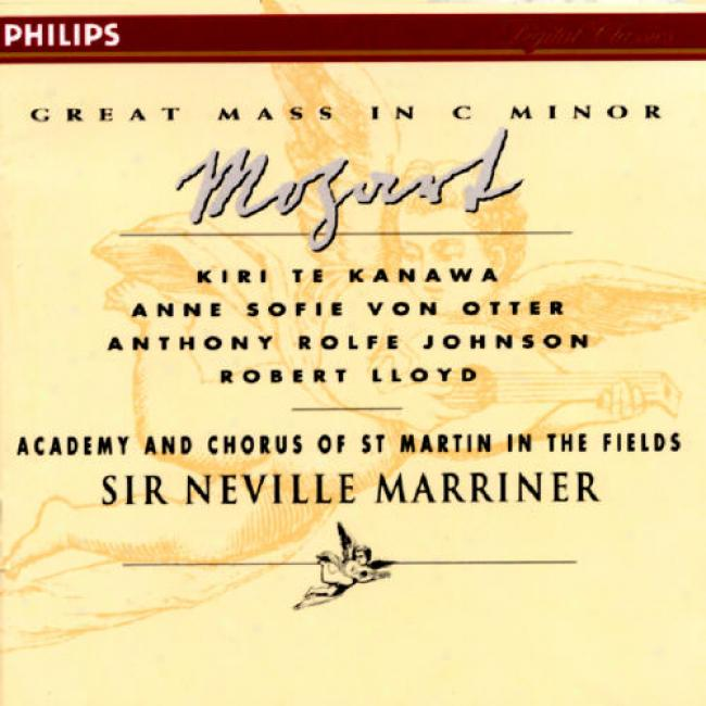 Mozart: Great Mass In C Minor/ave Verum Corpus