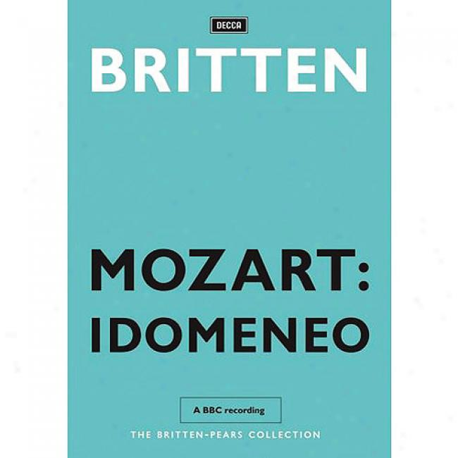 Mozart: Idomeneo (2 Discw Melody Dvd) (amaray Case)