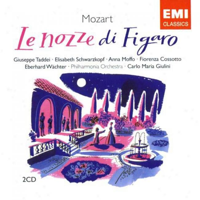 Mozart: Le Nozze Di Figaro (2 Disc Box Set) (remaster)