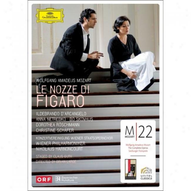 Mozart: Le Nozze Di Figaro (2 Disds Music Dvd )(amaray Case)