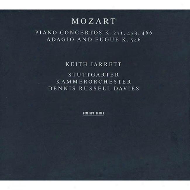 Mozart: Piano Concertos K.271, 453, 466/adagio And Fugue K.546 (2cd) (cd Slipcase)