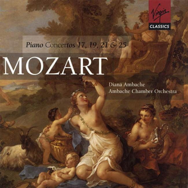 Mozart: Piano Concertos No.17, 19, 21 & 25 (2cd)