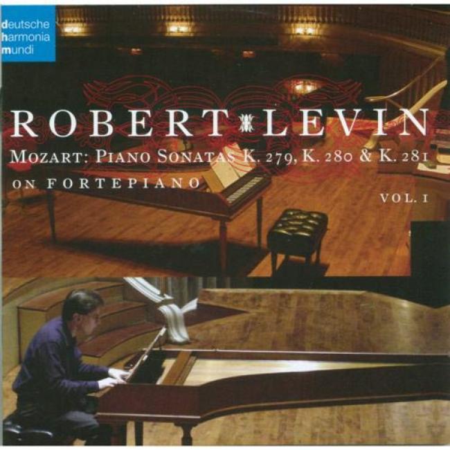 Mozart: Piano Sonatas K.269, K.280 & K.281, Vol.1 (includes Dvd)