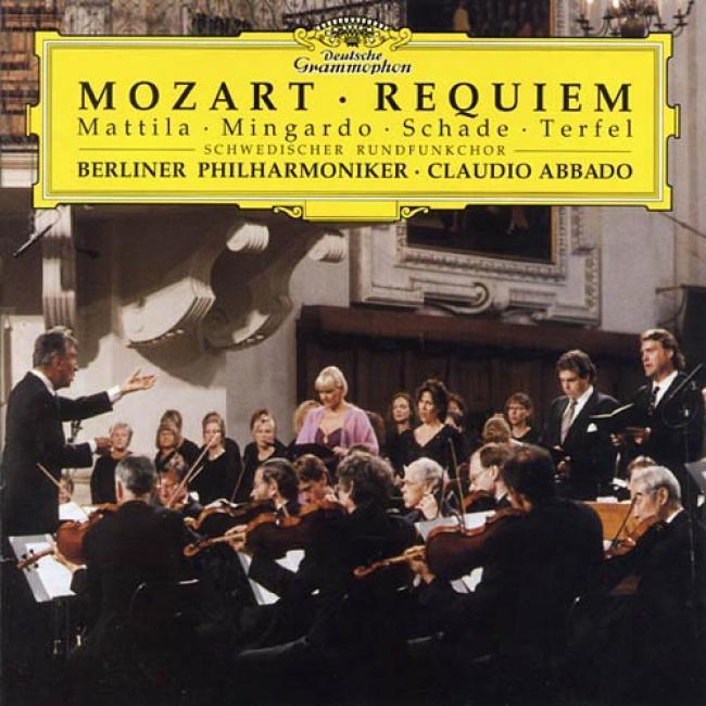 Mozart: Requiem/ Mattila, Mingardo, Schade, Terfel, Et Al