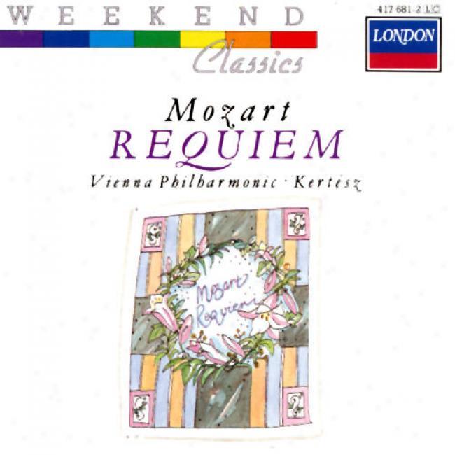 Mozart: Requiem/kertesz, Ameling, Horne, Benelli, Franc,