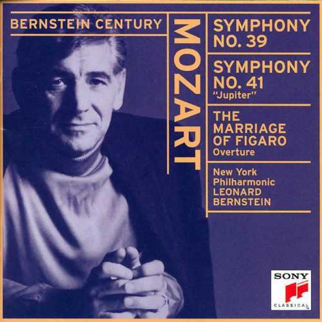 Mozart: Symphonies Nos. 39 & 41 'figaro' Proposal