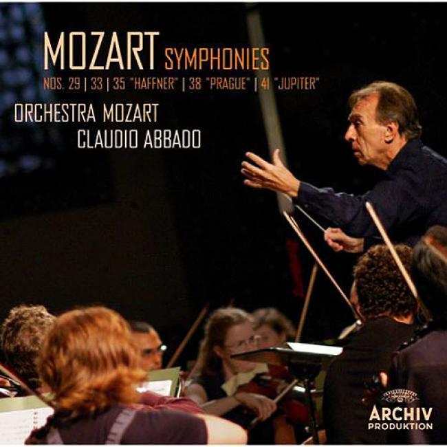 Mozart: Symphohies Nos.29, 33, 35, 38, 41 (2cd)