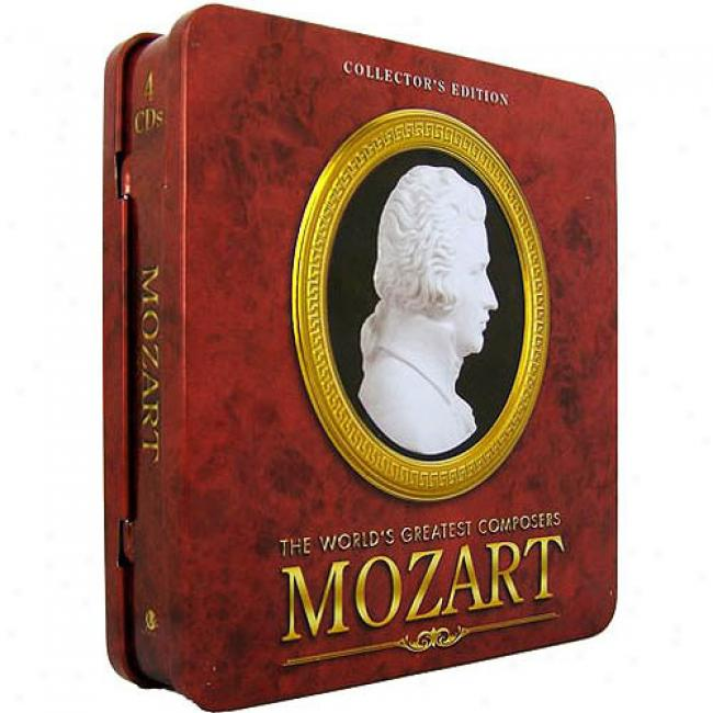 Mozart: The World's Greatest Composersl (collector's Edition) (4 Disc Box Set)