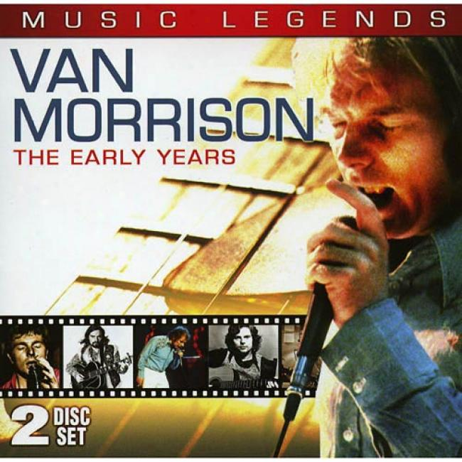 Music Legends: The Early Years (includes Dvd) (cd Slipcase)