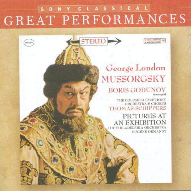 Mussorgsky: Boris Godunov/pictures At An Exhibition