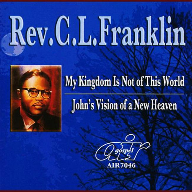 My Kingdom Is Not Of This World/john's Vision Of A New Heaven