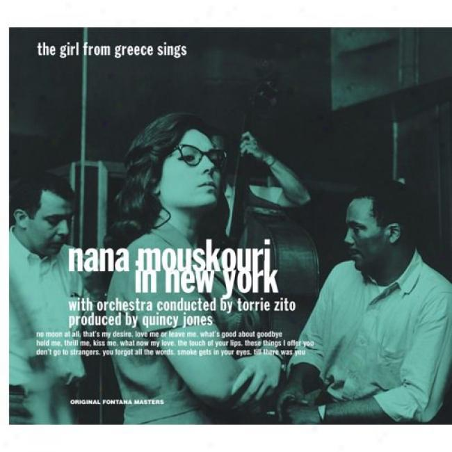 Nana Mouskouri In New York (digi-pak) (remaster)