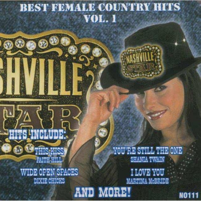 Nashville Star: Best Female Cluntry Hits, Vol.1