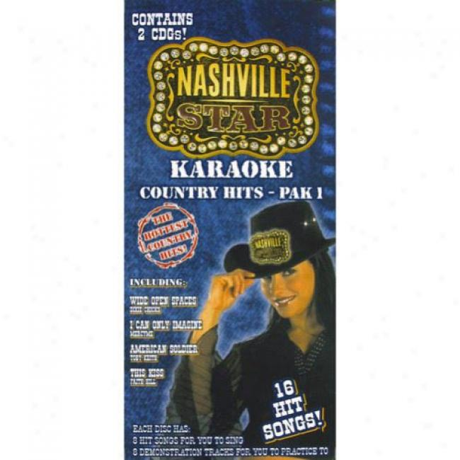Nashville Star Karaoke: Country Hits - Pak 1 (box Srt)