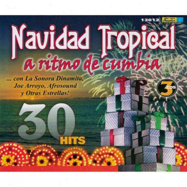 Navidad Tropical A Ritmo De Cumbia (3 Disc Box Set)