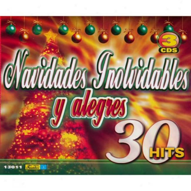 Navidads Inolvidables Y Alegres (3 Disc Box Set)