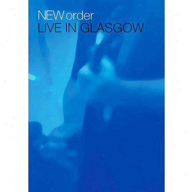 New Order: Live In Glasgow (2 Discs Music Dvd)