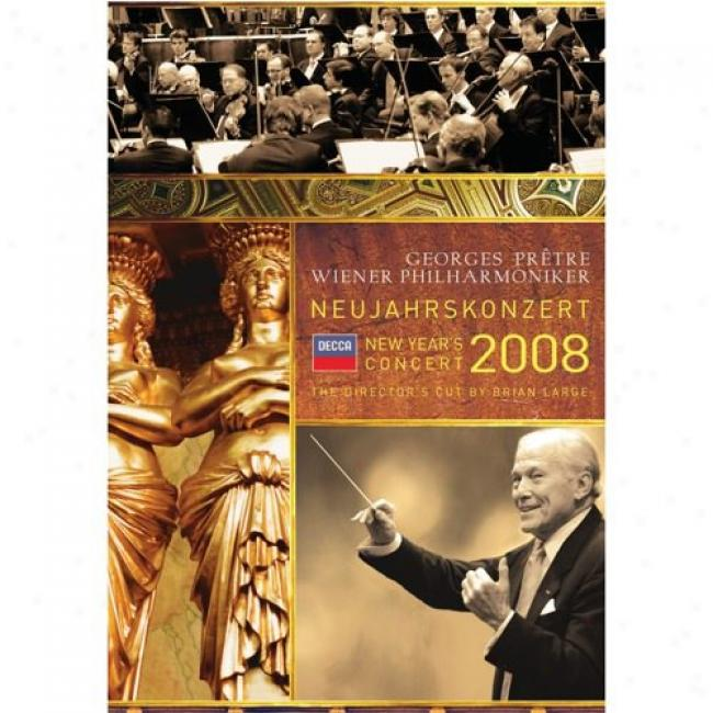 New Year's Conc3rt 2008 (music Dvd) (amaray Case)
