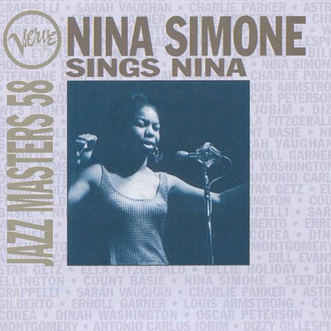 Nina Simone Sings Nina: Verve Jazz Masters Vol.58