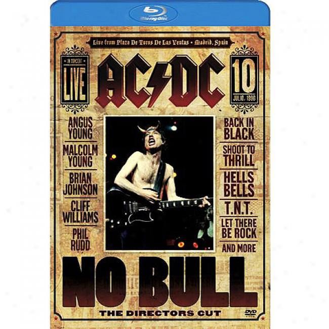 No Bull: The Directors Cut (wal-mart Exclusive Blu-ray Disc) (bd Amaray Case)