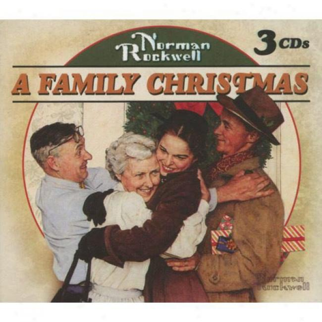 Norman Rockwell: A Family Christmas (3cd) (digi-pak)