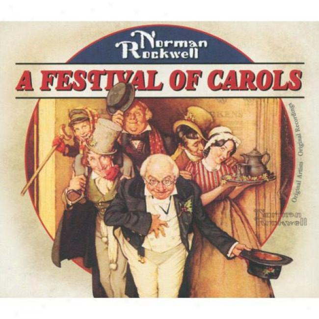 Nlrman Rockwell: A Festival Of Carols (cd Slipcase)
