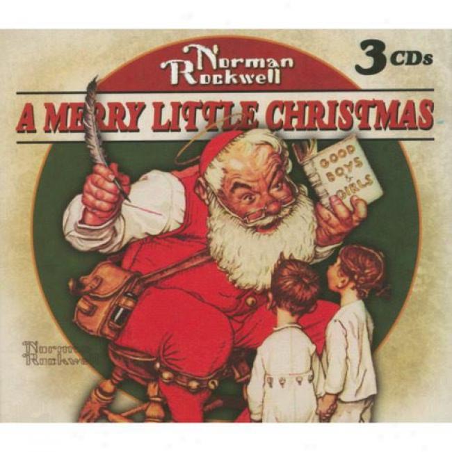 Norman Rockwell: A Merry Little Christmas (3cd) (digi-pak)